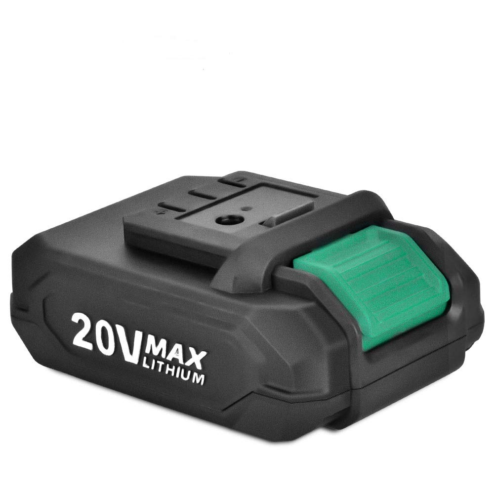 KIMO 20V MAX Lithium-Ion Battery 2.0Ah Long Life Battery Compatible with KIMO Cordless Leaf Blower,Cordless Drill Driver, Brushless Cordless Impact Driver, All 20V Power Tools