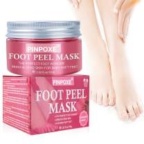 Foot Peel Mask, Foot Peel Mask Exfoliating, Removes Calluses, Dead and Dry Skin, Repairs Rough Heels, Make Your Feet Baby Soft Get Smooth Silky Skin