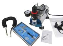 0.3mm Double-Action Airbrush Kit & Spray filter & Autostop Air Compressor 1450RPM (220-240V)