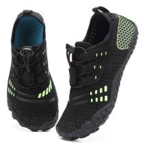 Boys & Girls Water Shoes Lightweight Comfort Sole Easy Walking Athletic Slip on Aqua 5 Toe Sock(Toddler/Little Kid/Big Kid)