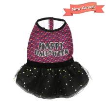 kyeese Christmas Dog Dress for Small Dogs Tutu Dress with Star Printing Cat Dress Holiday