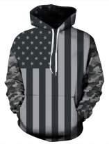 Goodstoworld Unisex Realistic Hoodies Front Pocket Pullover Sweatshirt Hip Hop Youth Hoody M-XXL