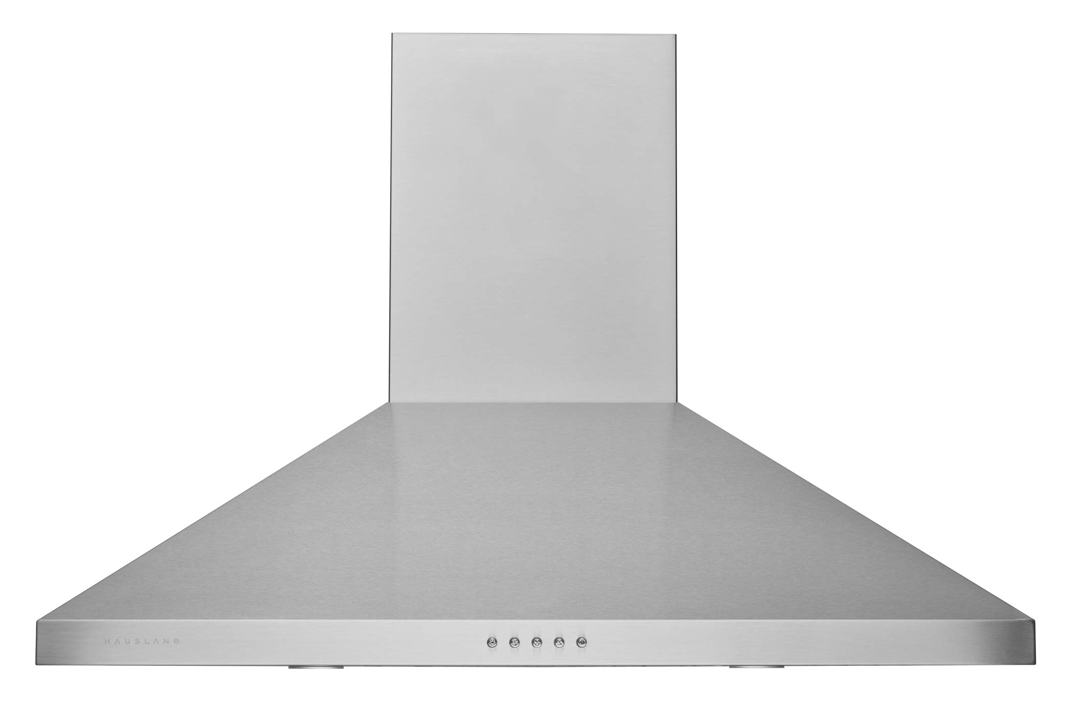 "Hauslane - Chef Series Range Hood 36"" WM-530SS-36P - European Style Series - 3 Speed Stainless Steel Wall-Mount - Strong Suction - Button Control, Steel Baffle Filter, LED Lamps - 6"" Duct or Ductless"