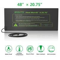 Seedling Heat Mat, 48 x 20.75 inches Durable Waterproof Seed Germination Heating Mat, Warm Hydroponic Heating Pad