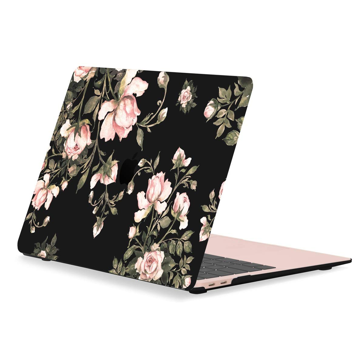 "TOP CASE MacBook Air 13 Inch Case 2019 2018 Release A1932 Retina Display, Classic Series Victorian Pattern Hard Case Compatible MacBook Air 13"" with Retina Display fits Touch ID A1932 - Black"