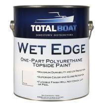 TotalBoat Wet Edge Topside Paint (White, Gallon)