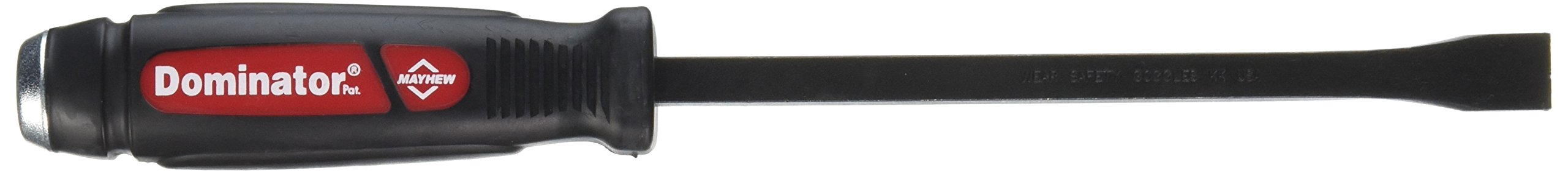 Mayhew 60140 7-C Dominator Pry Bar, Curved, 12-Inch OAL