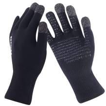 SuMade Running Gloves, Unisex Touchscreen Waterproof Windproof Warm Driving Working Hiking Stretch Lightweight Gloves