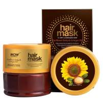 WOW Moroccan Argan Oil Hair Mask For Dry, Damaged Hair - Hydrating For Deep Conditioning & Healthy Hair Growth - Helps Repair and Protect Damaged & Thin Strands - Sulfate, Paraben Free - 200ml