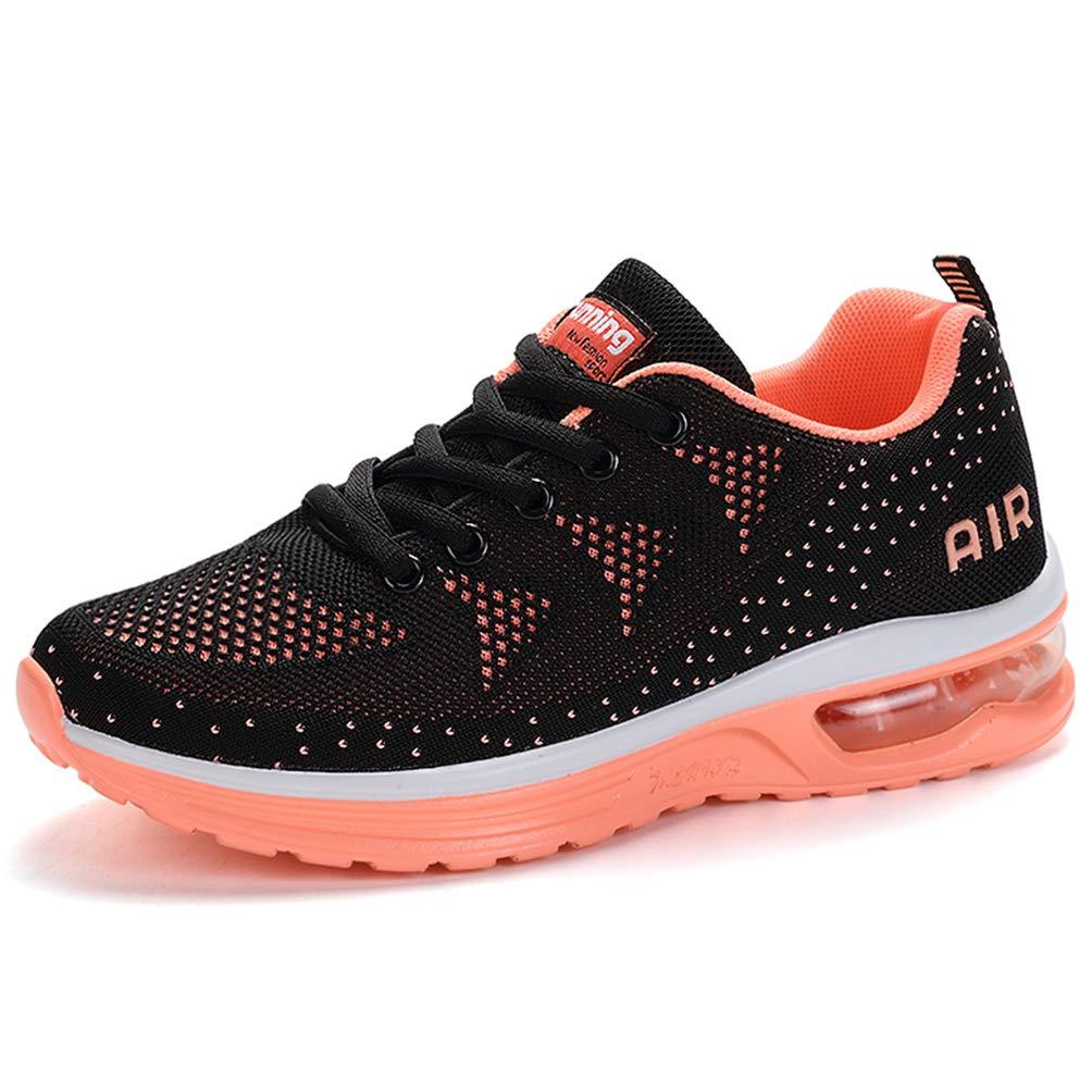 RUMPRA Women Sneakers Lightweight Air Cushion Gym Fashion Shoes Breathable Walking Running Athletic Sport