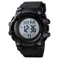 Skmei Sports Watch Men,Digital 5 ATM Watreproof Watches Military Multifunction Display EL Light Wristwatch with Alarm