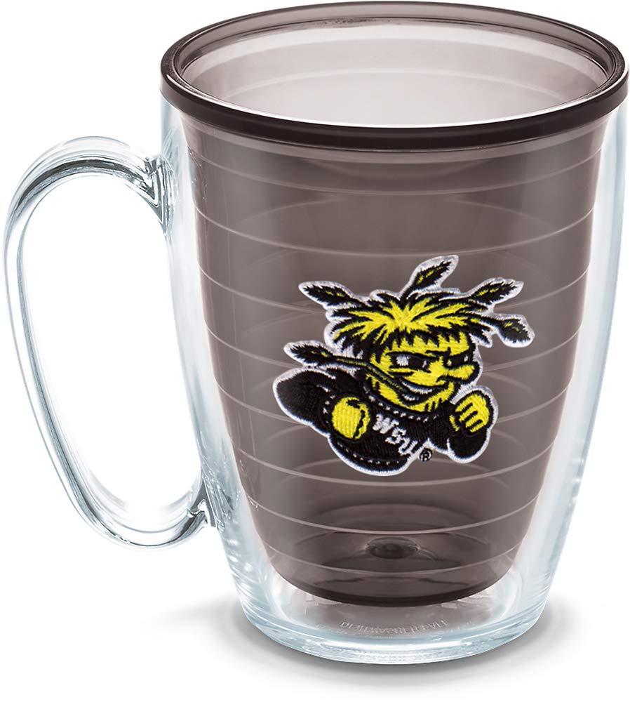 Tervis Wichita State University Emblem Individual Mug, 16 oz, Quartz