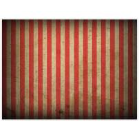 Allenjoy 8x6ft Evil Halloween Circus Carnival Backdrop for Festival Red and White Stripes Yellowing Bloody Splatter Party Decor Horrorible Prom Portrait Photography Background Photo Booth Studio Props