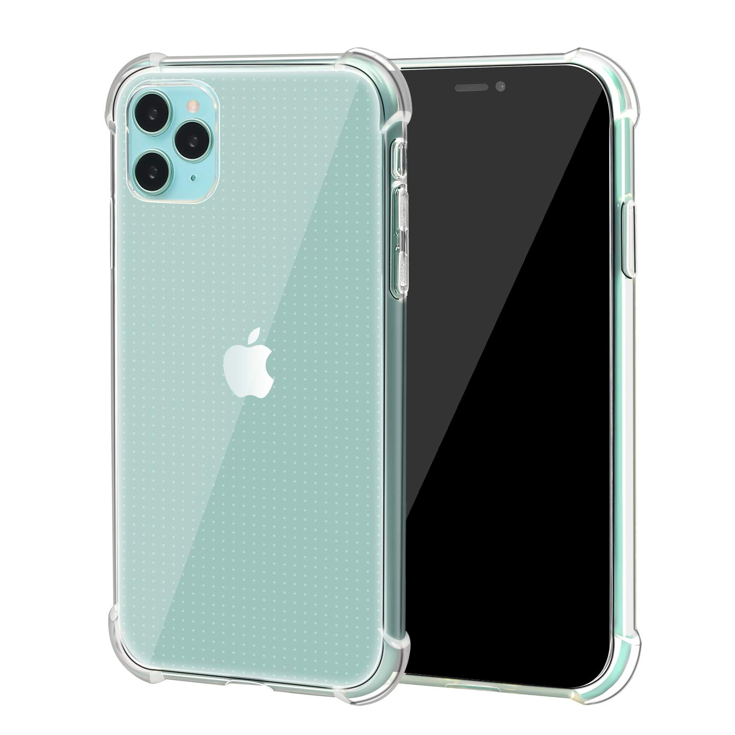 Quanzhou Chenchenchen E-Commerce Co.,Ltd Clear Cover Case for iPhone 11 Pro Max with Protective Shock Absorption Technology Bumper Soft TPU - 2019 iPhone 11pro Max 6.5''