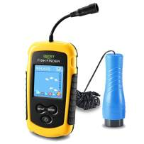 LUCKY Small Portable Fish Finder Kayak Sonar Handheld Fish Finders Ice Fishing Castable Depth Finder Boat Fisherman Gifts