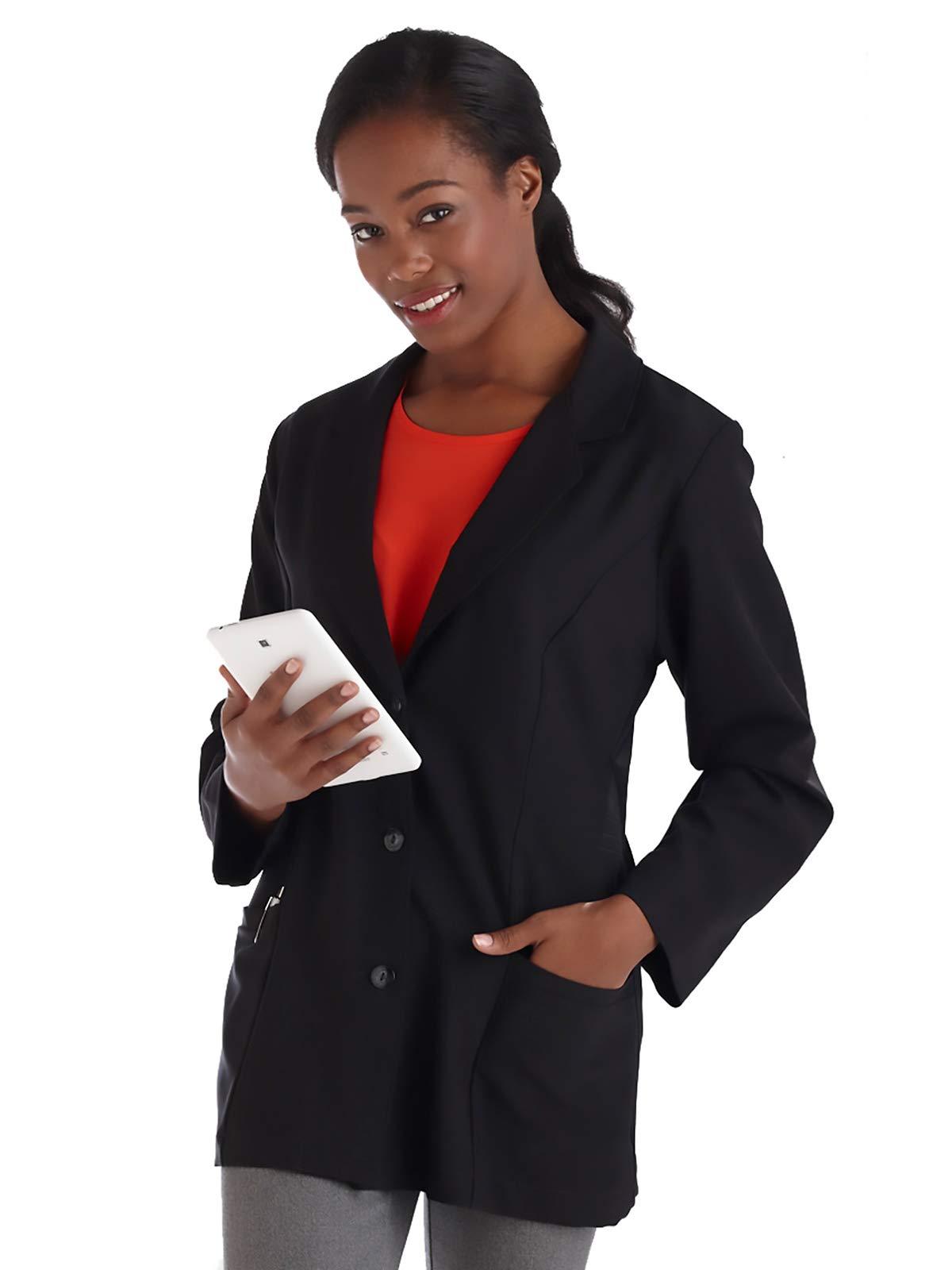 """Meta Pro 824 Women's 29"""" Stretch Consultation Lab Coat"""