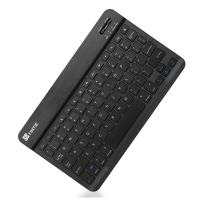 "Fintie 10.5-Inch Ultrathin (4mm) Wireless Bluetooth Keyboard for New iPad 10.2, iPad Air 10.5"" (3rd Gen)/ iPad Pro 10.5"", iPad Pro 11/Pro 9.7, iPad 9.7 Inch, iPad Air 2, iPad Air, iPad 2/3 /4, Black"