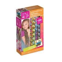 Style Me Up - Knitting Loom Set for Kids - Rainbow Scarf Crochet Kit for Kids - DIY Scarf Kit for Girls - SMU-328