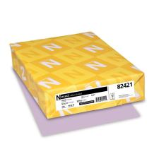 "Exact Vellum Bristol, 8.5"" x 11"", 67 lb/147 gsm, Orchid, 250 Sheets (82421)"