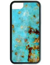 Wildflower Limited Edition Cases for iPhone 6 Plus, 7 Plus, or 8 Plus (Turquoise)