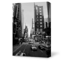 IDEA4WALL Canvas Wall Art Brooklyn Bridge and New York City Painting Artwork for Home Prints Framed - 24x36 inches