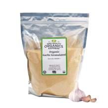 HQOExpress | Organic Garlic Granules | 5 lb. Resealable Bag