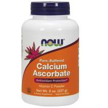 NOW Supplements, Calcium Ascorbate Powder, Buffered, Antioxidant Protection*, 8-Ounce