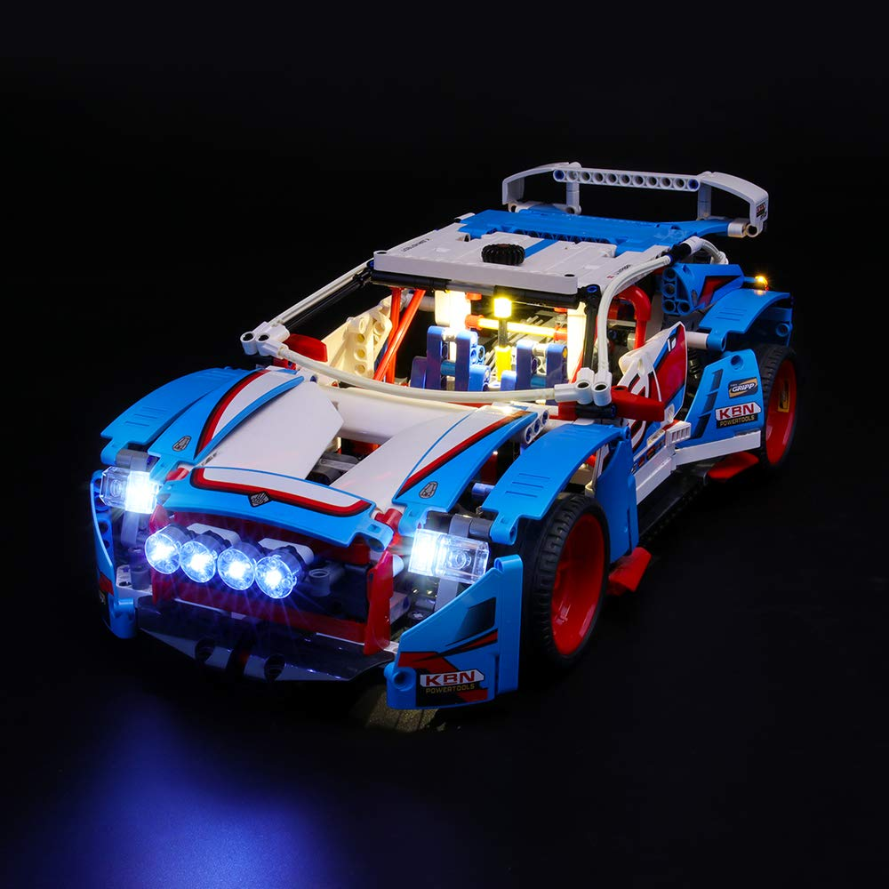 LIGHTAILING Light Set for (Technic Rally Car) Building Blocks Model - Led Light kit Compatible with Lego 42077(NOT Included The Model)