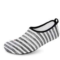 Hotaden Water Shoes for Men Women Quick Dry Aqua Socks Slip-on Beach Swimming Outdoor Shoes