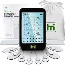 HaelMed Dual Channel Electric TENS Unit Muscle Stimulator, Gen Pain Relief 16 Modes Rechargeable TENS Machine with 4pcs Premium Electrode Pads for Pain Relief & 2 Electrode Wires with 2 leads