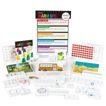 hand2mind Guided Math Kit Unit 1: Numbers 0-5 & 6-10 for Kids (Grade K+) - Subitizing, Number Sense & Cardinality | 19 Detailed Group Lessons with Activities