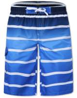 Leapparel Men's Swim Trunks Quick Dry Summer Surf Beach Board Shorts with Side Pockets No Mesh Lining