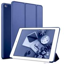 kenke iPad Mini 4 case 7.9 inch Silicone Soft Anti-Scratch Smart Shell Stand Cover Auto Sleep/Wake for Apple iPad Mini 4th Generation Model A1538/A1550 (Navy)