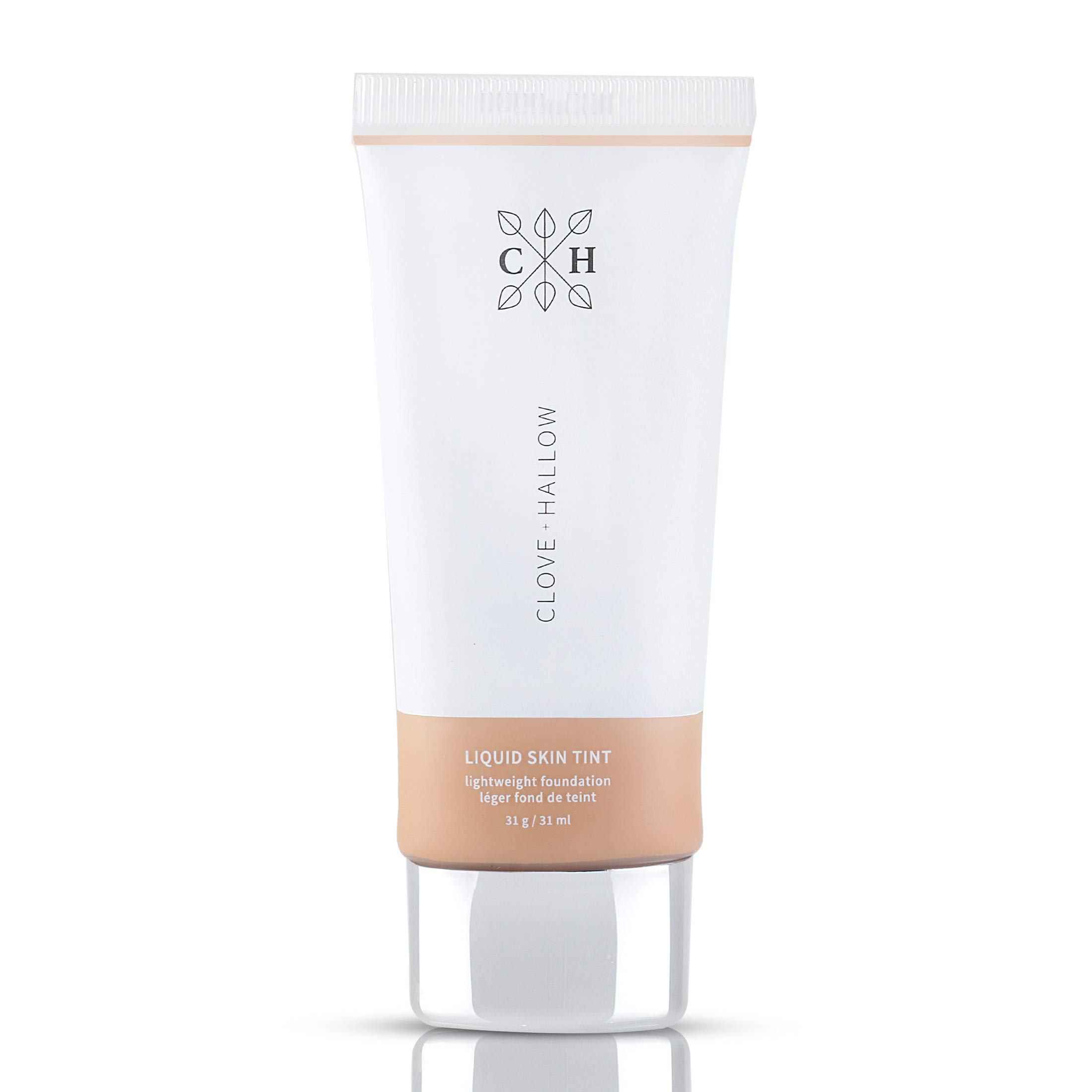CLOVE + HALLOW Liquid Skin Tint Liquid Foundation Organic Makeup-06