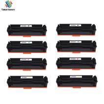 8 Pack Toner Cartridge Replacement for HP 201X CF400X CF401X CF402X CF403X(Black/Cyan/Magenta/Yellow), for use with HP Color Laserjet Pro M252dw M252n, HP Color Laserjet Pro MFP M277dw Printers