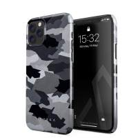 BURGA Phone Case Compatible with iPhone 11 PRO MAX - Snow White Camo Camouflage Cute Case for Women Thin Design Durable Hard Plastic Protective Case
