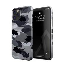 BURGA Phone Case Compatible with iPhone 11 PRO - Snow White Camo Camouflage Cute Case for Women Thin Design Durable Hard Plastic Protective Case