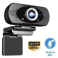 1080P HD Webcam with Microphone, TuoFang USB Web Camera for Desktop/Laptop/Computer/PC, Online Teaching/Business Meeting/Video Calling, Plug and Play, for Windows Mac OS