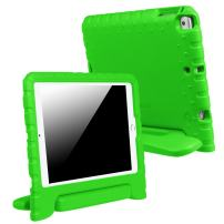 """Fintie Kiddie Case for iPad 9.7 Inch 2017 / iPad Air 2 / iPad Air Case - Kids Friendly Light Weight Shock Proof Convertible Handle Stand Cover for iPad 9.7"""" 2017, iPad Air 2, iPad Air, Green"""