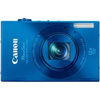 Canon PowerShot ELPH 520 HS 10.1 MP CMOS Digital Camera with 12x Optical Image Stabilized Zoom 28mm Wide-Angle Lens and 1080p Full HD Video Recording (Bllue)