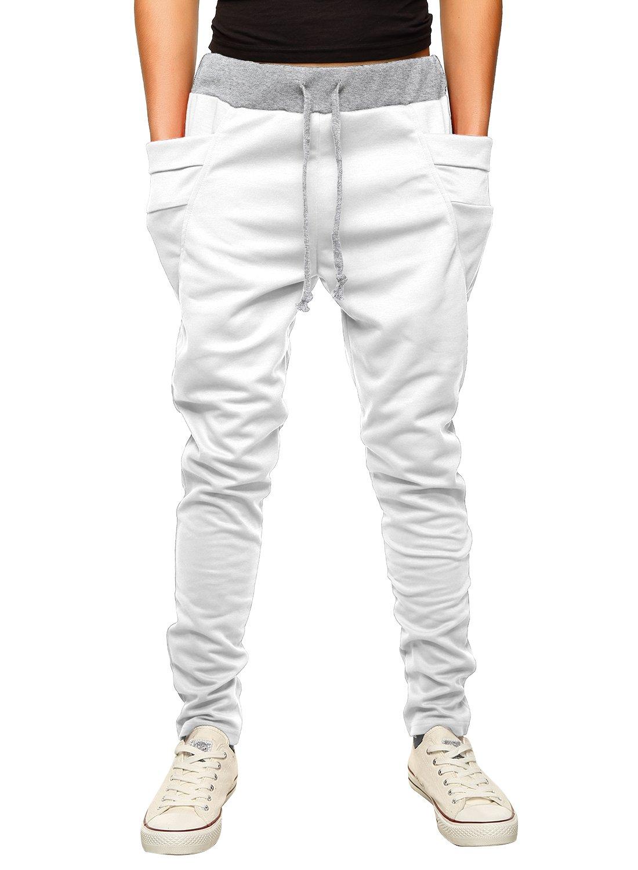 HEMOON Men's Casual Jogger Pants Basic Sweatpants with Pockets