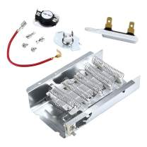 AMI PARTS 279838 AND 279816 Dryer Heating Element and Thermostat 3392519 dryer fuse Combo Pack for Whirlpool Kenmore Electric Dryers
