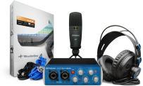 PreSonus AudioBox 96 Studio USB 2.0 Recording Bundle with Interface, Headphones, Microphone and Studio One software