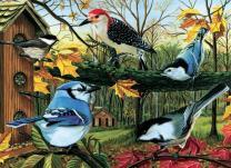 Cobble Hill Blue Jay & Friends Jigsaw Puzzle (1000 Piece)