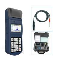 CNYST Vibration Meter Tester Split Type Vibrometer with Integrated Thermal Printer for Data Print Acceleration Velocity and Displacement Measuring with Velocity Range 0.1 to 400.0 mm/s(RMS)