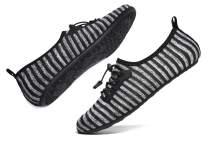 WaltZon Mens Womens Swim Water Shoes Barefoot Quick-Dry Aqua Socks Rain Shoes for Beach Pool Surfing Yoga