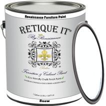 Retique It By Renaissance Furniture Paint (Gallon, 01 Snow - White)