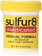 Sulfur8 Medicated Regular Formula Anti-Dandruff Hair and Scalp Conditioner, 2 Ounce