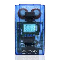 OOYCYOO MPPT Charge Controller 60 amp 12V/24V Auto, 60A Solar Panel Charge Regulator with Blacklight LCD Display Max 100V for Lead-Acid Sealed Gel AGM Flooded Lithium Battery(K60-Pro)