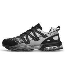 RUNMAXX Mens Womens Running Shoes Fashion Sneakers Indoor Outdoor Walking Fitness Jogging Athletic Road Casual Footwear